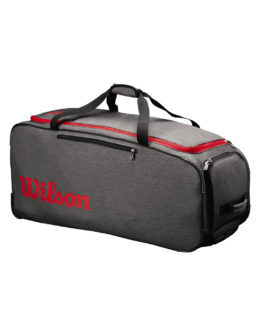 WRZ847894_TRAVELER_Wheeled_Coaches_Duffel_Grey_Red_Front