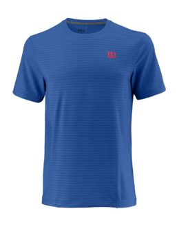 WRA765001_SS18_Competition_M_UWII_Linear_Crew_Mens_PrinceBlue_NeonRed_Front