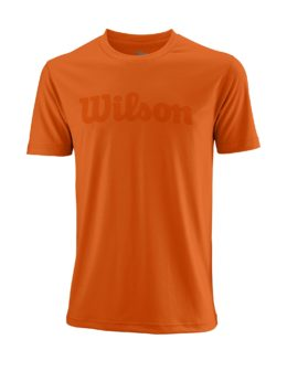 WRA770301_SS18_Competition_M_UWII_Script_Tech_Tee_Mens_BurnOrange_Clear_Front