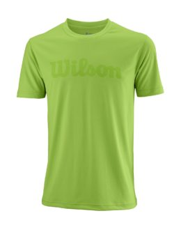 WRA770302_SS18_Competition_M_UWII_Script_Tech_Tee_Mens_BladeGreen_Clear_Front
