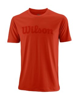 WRA770303_SS18_Competition_M_UWII_Script_Tech_Tee_Mens_ProStaffRed_Clear_Front