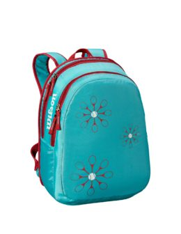 WRZ643995_Youth_Backpack_Light_Blue_Red_Front