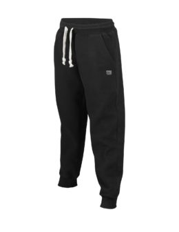 WRA740204_SS19_Training_Boys_Cotton_Pants_Closed_Cuff_Black_Front